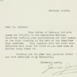 Letter : 1928 February 6