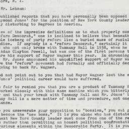 Letter : 1961 December 12
