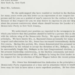 Letter : 1961 December 29