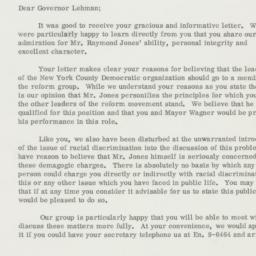 Letter : 1962 January 15