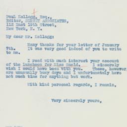 Letter : 1936 January 9