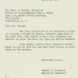 Letter : 1950 March 8