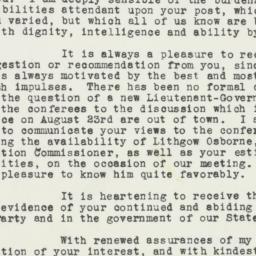 Letter : 1943 August 5