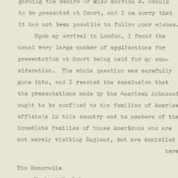 Letter : 1938 May 26