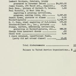 Ephemera : 1943 January 9