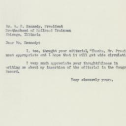 Letter : 1950 May 20