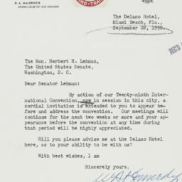 Letter : 1950 September 28
