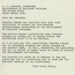 Letter : 1950 October 5