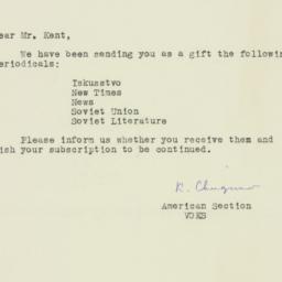 Letter: 1955 April 19