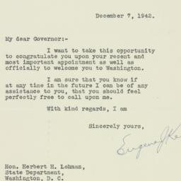 Letter : 1942 December 7