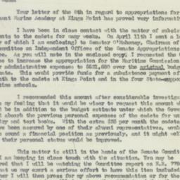 Letter : 1950 June 21