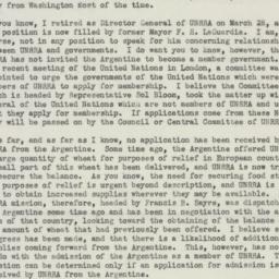 Letter : 1946 April 16