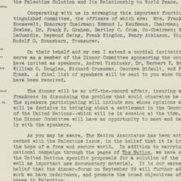 Letter : 1947 August 1