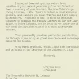 Letter : 1961 September 12