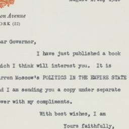 Letter : 1948 August 17