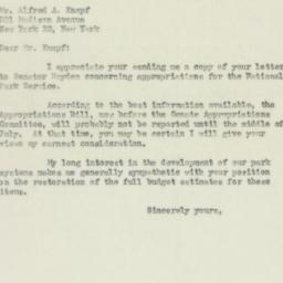 Letter : 1950 June 26