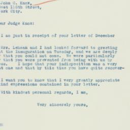 Letter: 1935 January 5