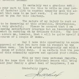 Letter : 1935 December 13