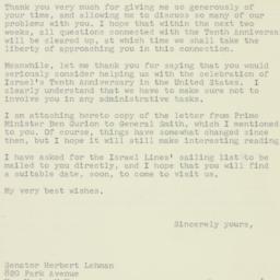 Letter : 1957 April 24