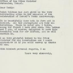Letter : 1958 June 20