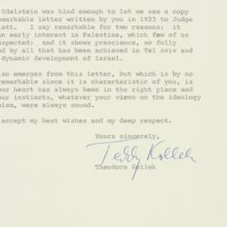 Letter : 1959 December 8
