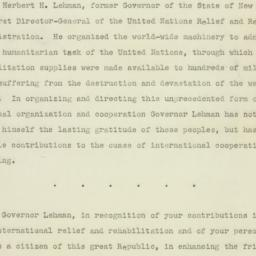 Manuscript : 1947 July 31