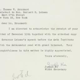 Letter : 1948 January 9