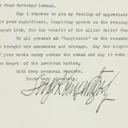 Letter : 1940 August 20