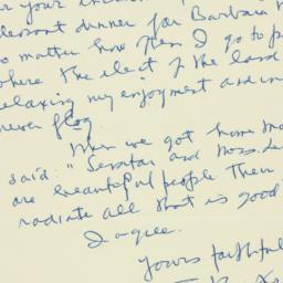 Letter : 1952 February 15
