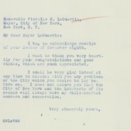 Letter: 1934 November 10