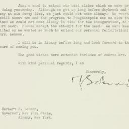 Letter: 1935 January 2