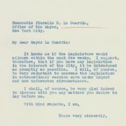 Letter: 1935 February 27