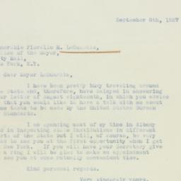 Letter: 1937 September 8