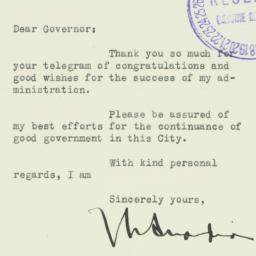 Letter: 1937 November 27