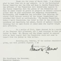Letter : 1940 March 27