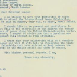 Letter : 1937 March 18