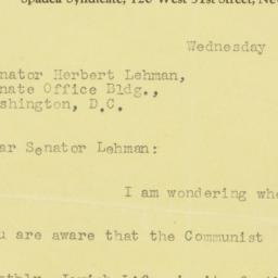 Note: 1953 May 28