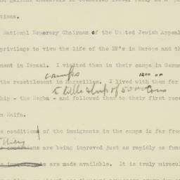 Speech: 1949 May 16