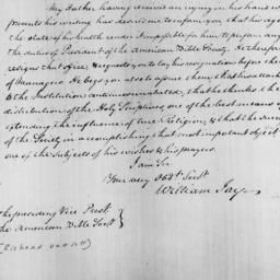 Document, 1828 January 30