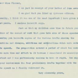 Ephemera: 1938 June 10