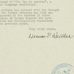 Ephemera: 1940 September 28