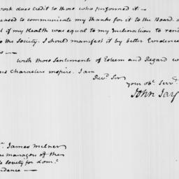 Document, 1819 July 26