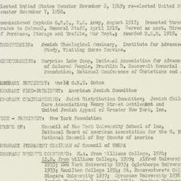 Ephemera: 1952 December 31