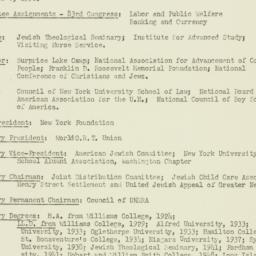 Ephemera: 1953 April 30