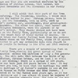 Ephemera: 1962 January 15