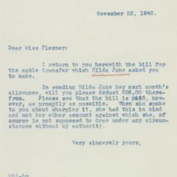 Clipping : 1942 November 23