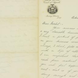 Letter: 1931 October 15