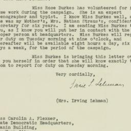 Letter: 1932 October 8