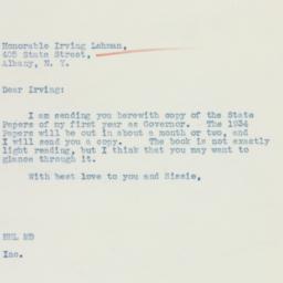 Letter: 1936 January 21