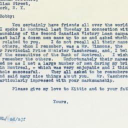 Letter : 1942 February 21